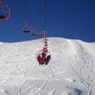 Skiing in Evasion Mont Blanc